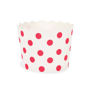 Baking Cups Red & White Spots - Paper Eskimo - 2