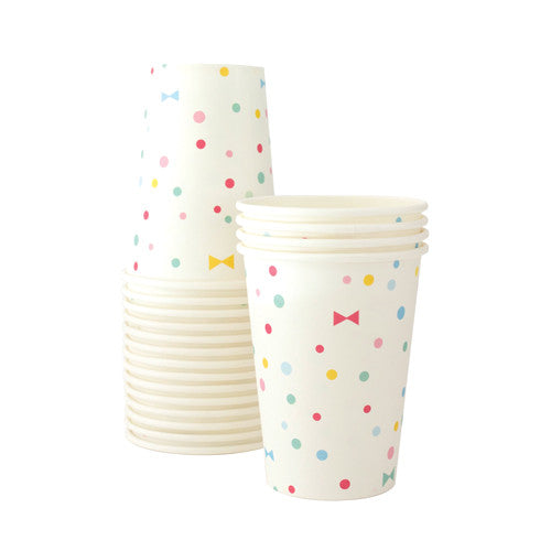 Paper Cups Summer Bows - Paper Eskimo