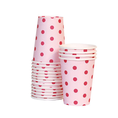 Paper Cups Pink Floss - Paper Eskimo