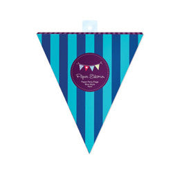 Party Flags Blue Style - Paper Eskimo - 2