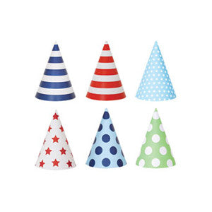 Party Hats Blue Style - Paper Eskimo - 4