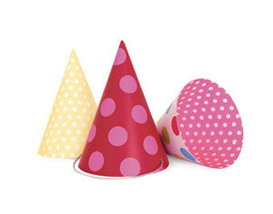 Party Hats Pink Style - Paper Eskimo - 2