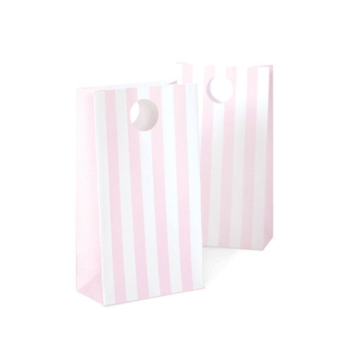 paper eskimo party bags 12 pack marshmallow pink