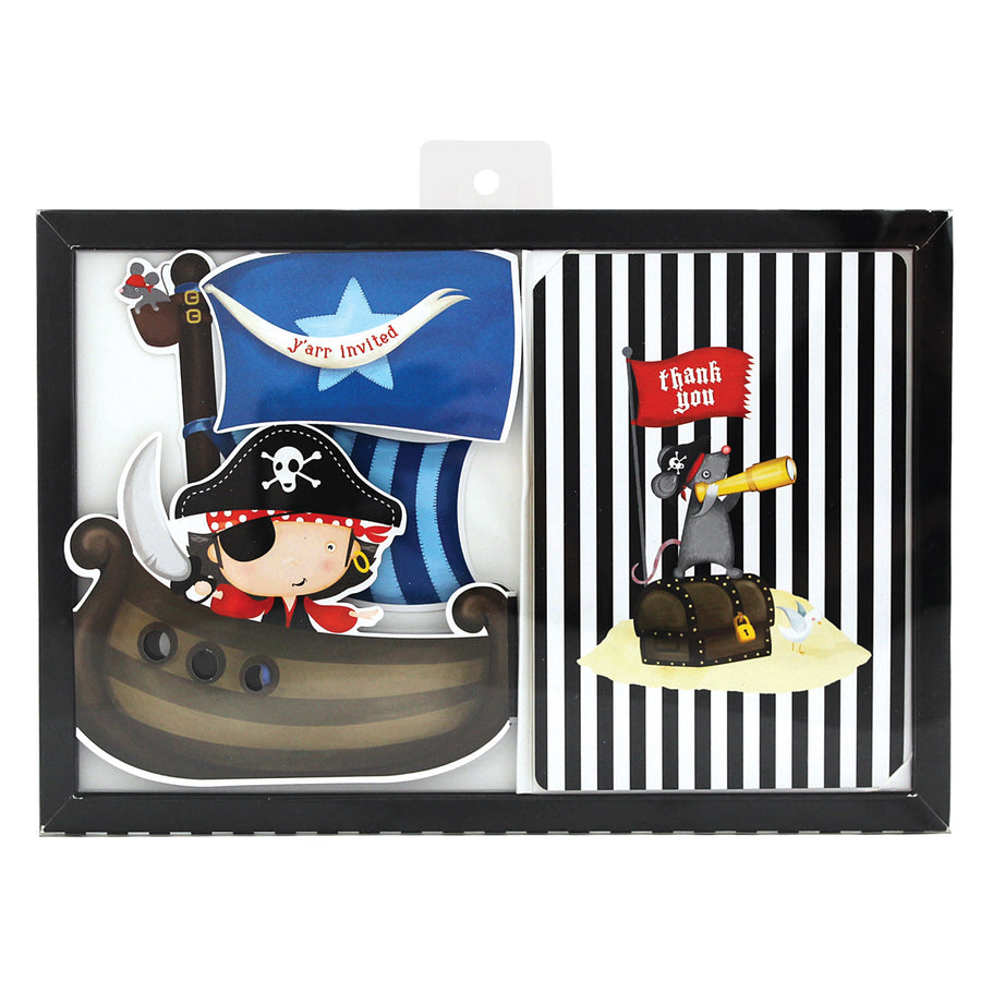 pirate theme birthday party invitations by paper eskimo