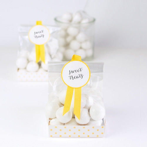 Treat Bags Yellow Limoncello - Paper Eskimo