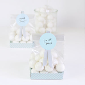 Treat Bags Powder Blue - Paper Eskimo
