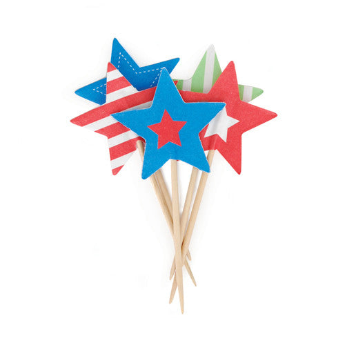 Cupcake Toppers Superstars- Paper Eskimo