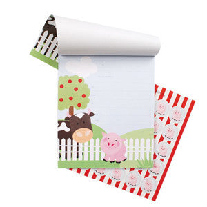 Farm Notepad Invitations - Paper Eskimo