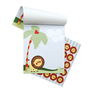 Safari Jungle Notepad Invitations - Paper Eskimo