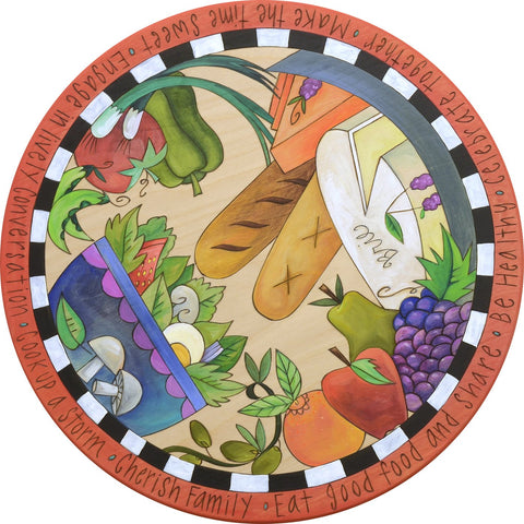 Enjoy Nature's Bounty Lazy Susan 18""