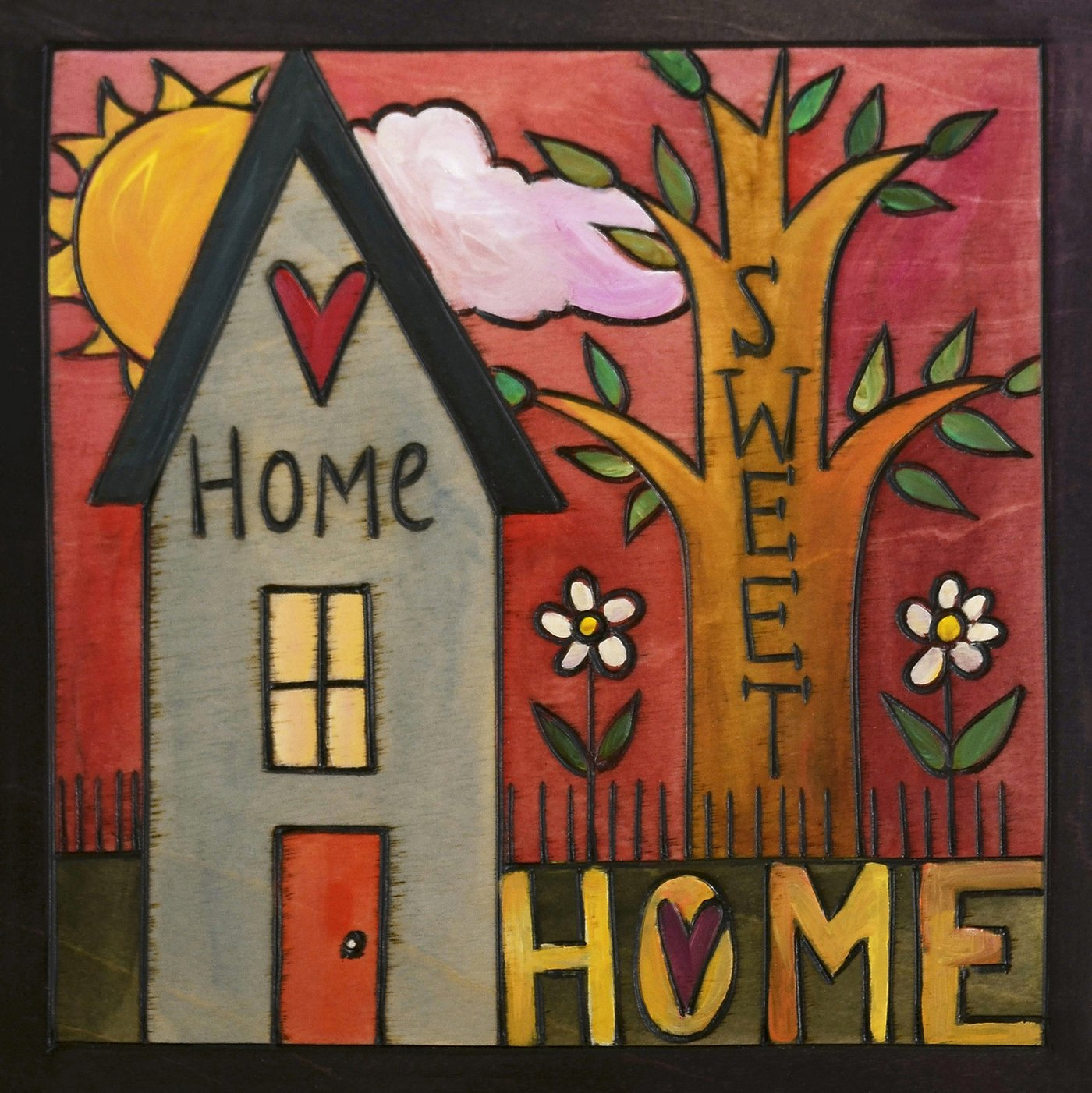 """Everybody's Home"" Plaque"