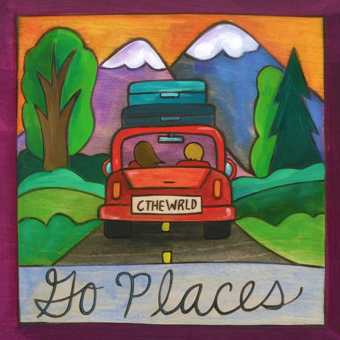 """Road Trippin"" Plaque"