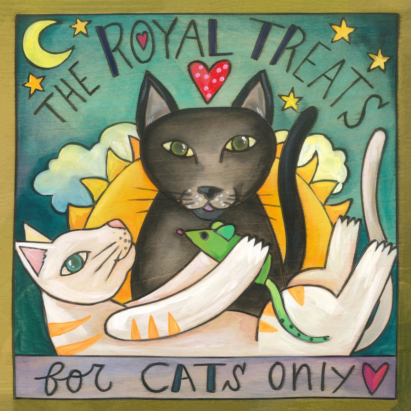 """Royal Treats"" Cat Treat Box"