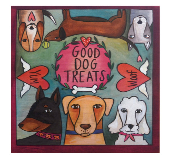 """Treat Time"" Dog Treat Box"