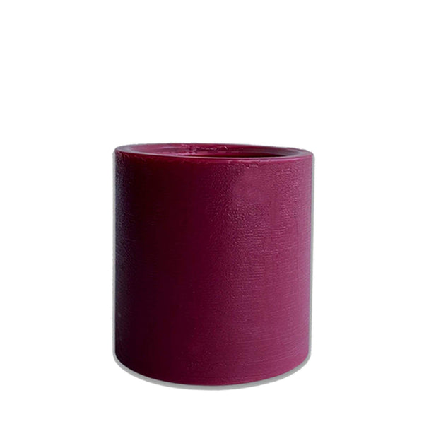 Cranberry-Mango Spiral Candle