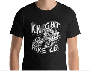 Knight Monster BMX Short Sleeve T-Shirt