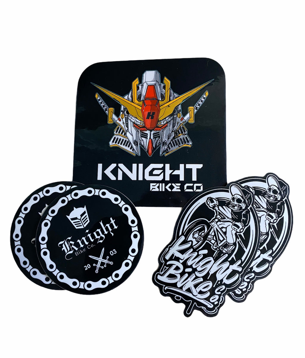 Knight Bike Co - Sticker Pack