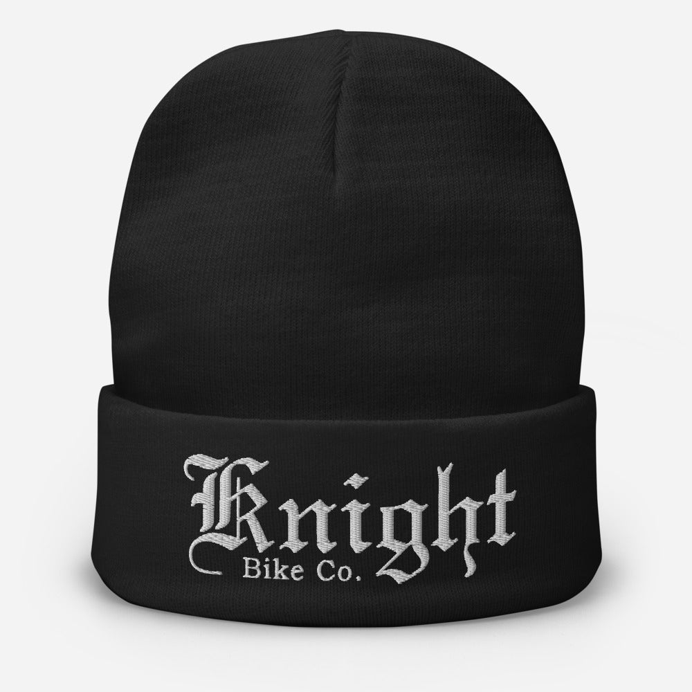 Knight Bike Co. Embroidered Beanie