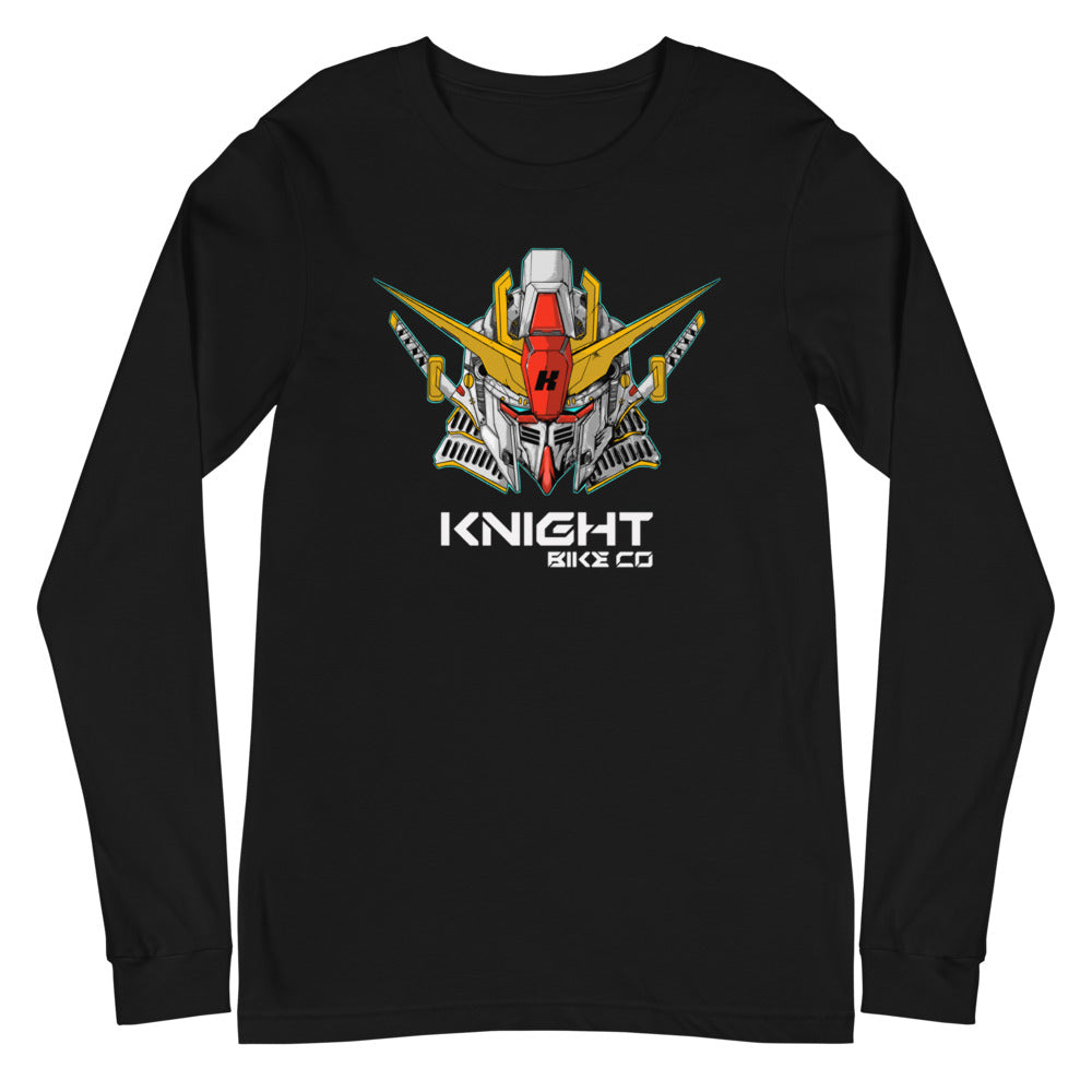 Knight Mecha Long Sleeve Tee