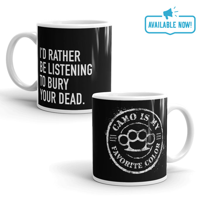 CIMFC Black 11oz Coffee Mug