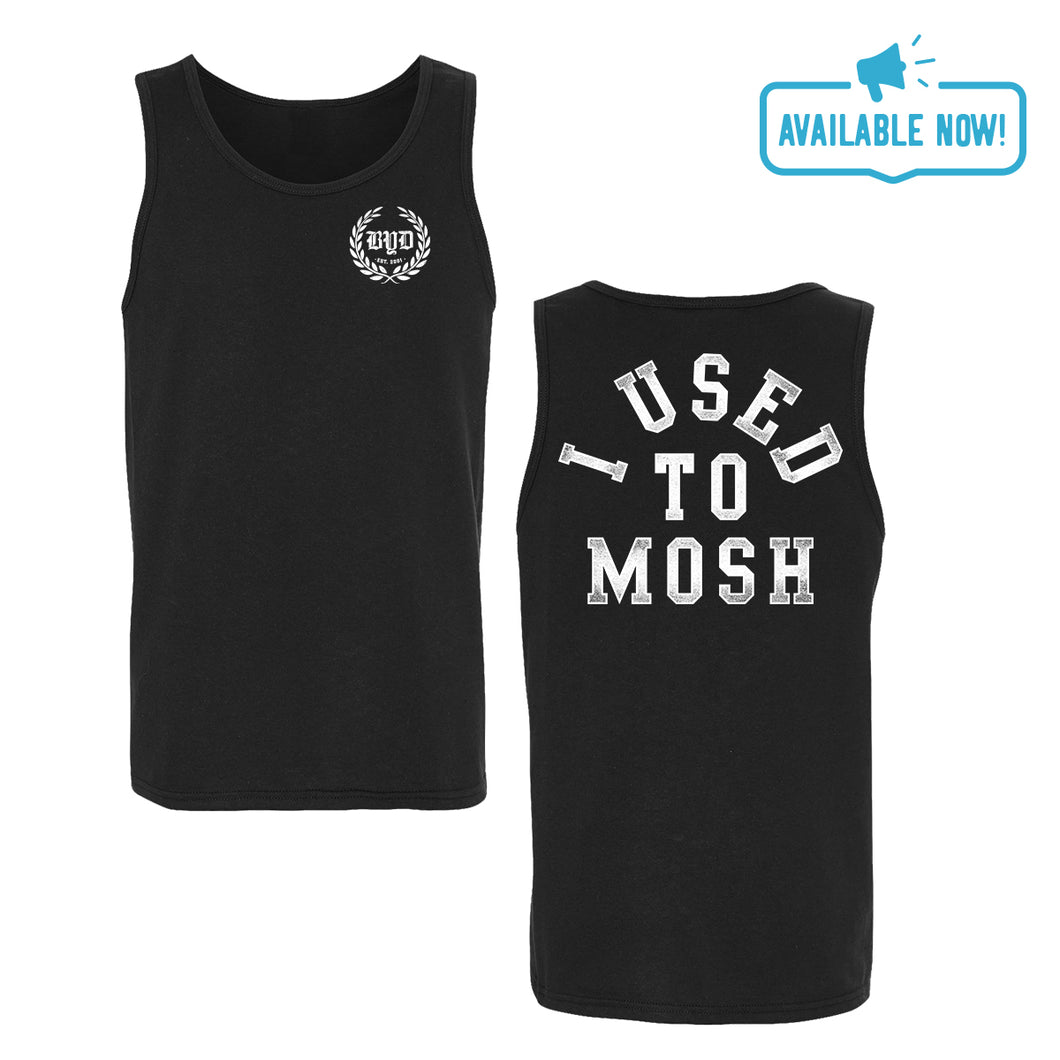 I Used To Mosh | Black Tank