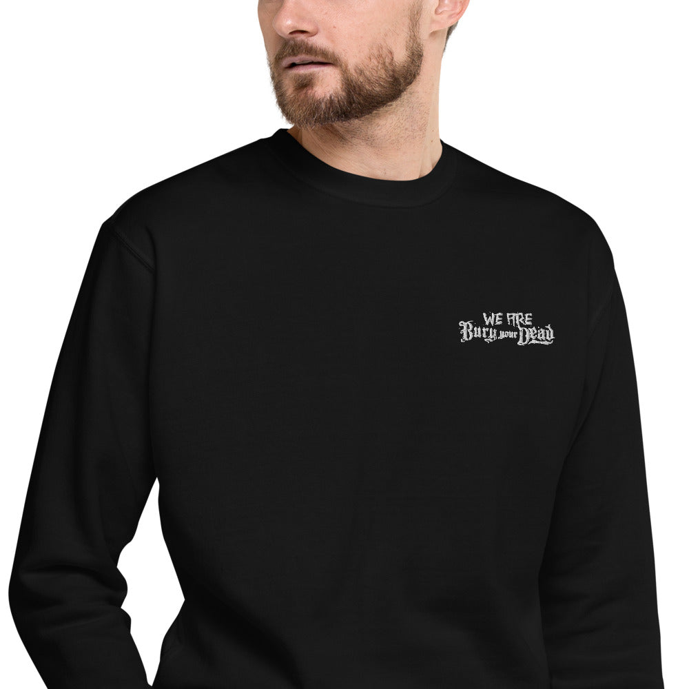 UNISEX We Are Bury Your Dead Embroidered Fleece Pullover