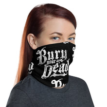 Load image into Gallery viewer, UNISEX Gaiter/Bandana Beauty and The Breakdown logo