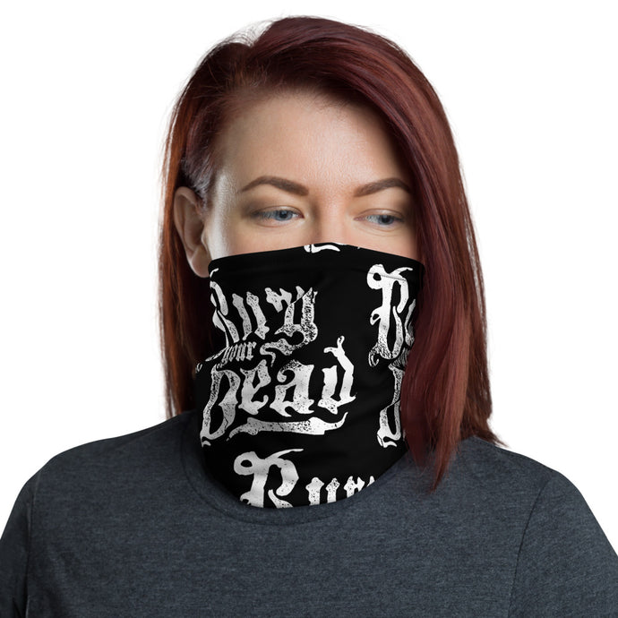 UNISEX Gaiter/Bandana Beauty and The Breakdown logo