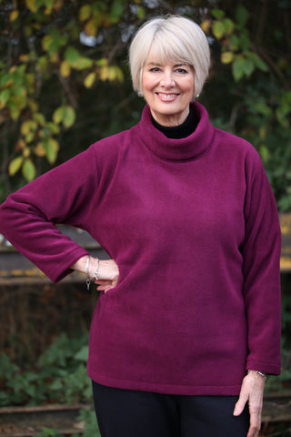 Hawkshead  Fleece Top in 6 Colours