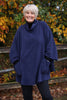Fleece Poncho in 12 colours
