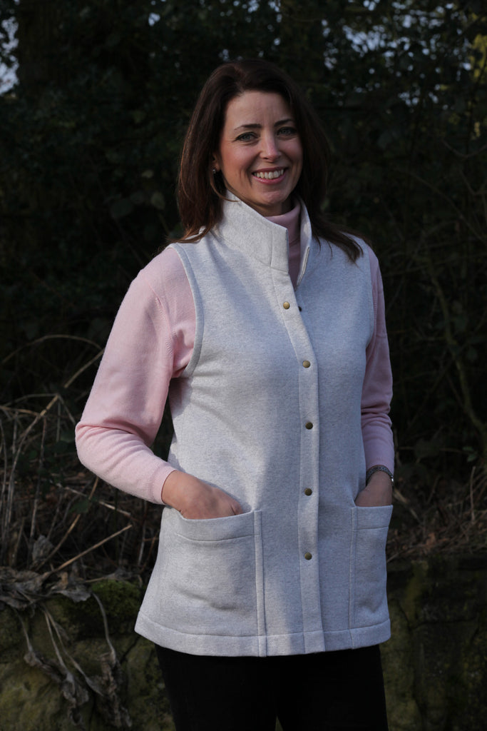 Classic Sweatshirt Gilet in odd sizes and colours