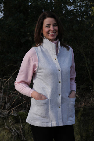 Classic Sweatshirt Gilet in 7 colours sizes 12 - 24