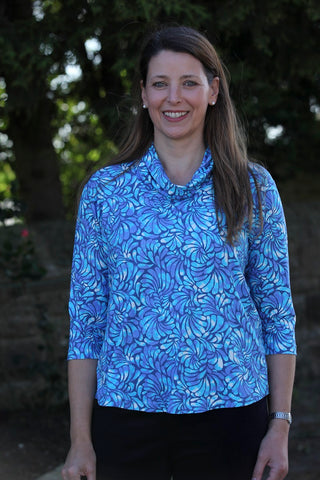 Katia Top in blues