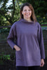 India sweatshirt Top in dark heather