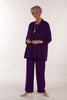 Cambridge Crepe Jacket in Deep Purple Sizes 14 and 18 only