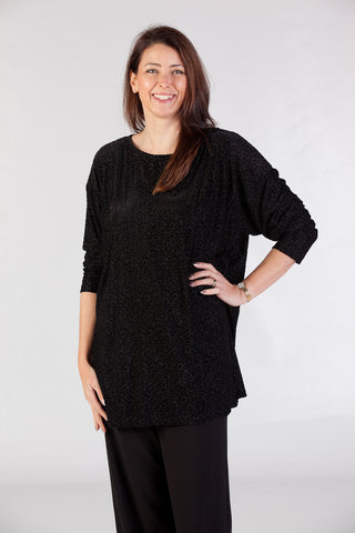 Chelsea Top in Black