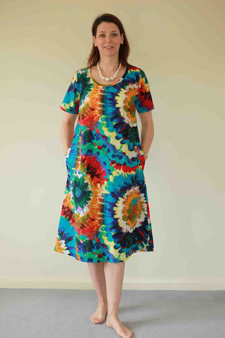 Kaleidoscope Island Dress in two colours