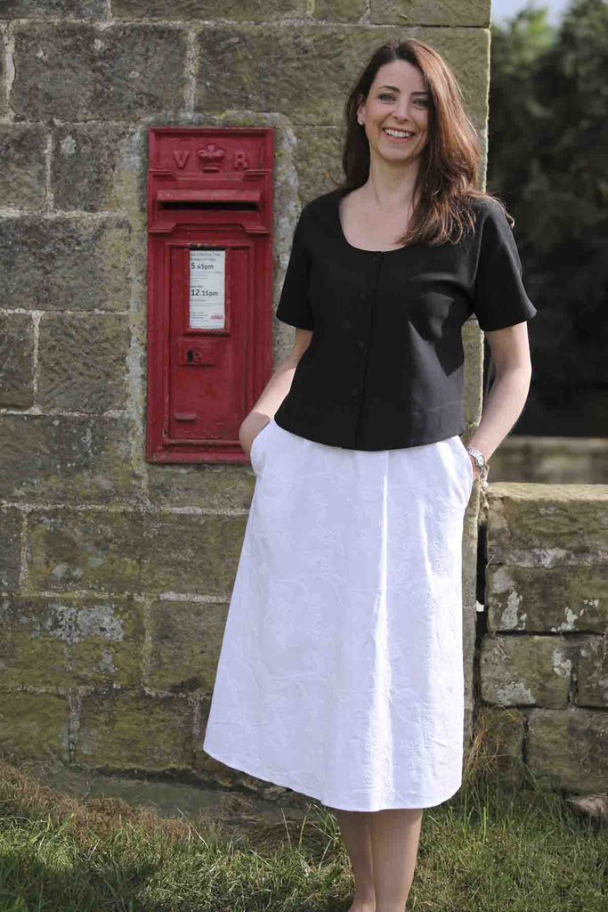 Lorna Embroidered Skirt