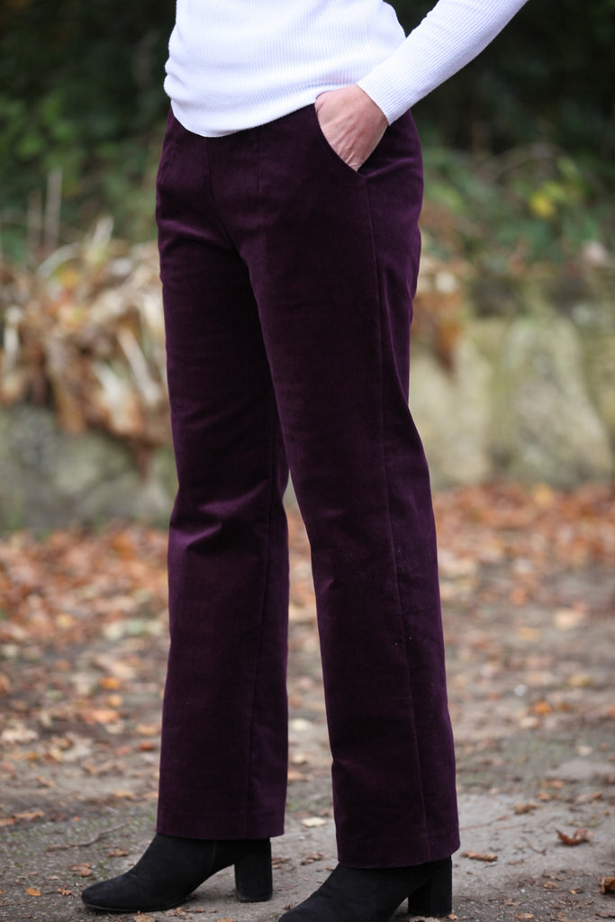 Cove Corduroy Trousers with pockets