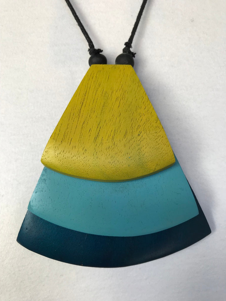 Triangles Necklace in four colourways