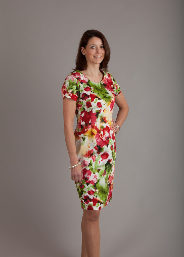 Green Daffodil Dress