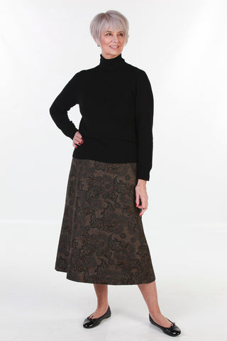 Tapestry A line skirt