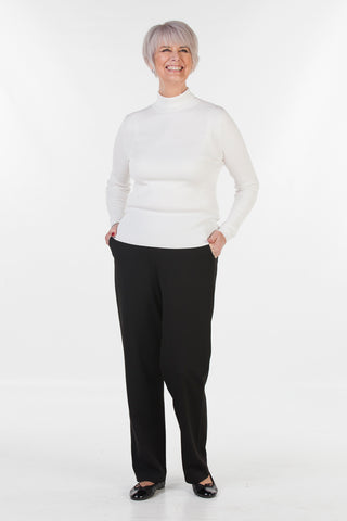 Cove Jersey Trousers in Royal Grape Black or Navy