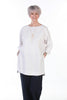 Sale India long oversize top in  White