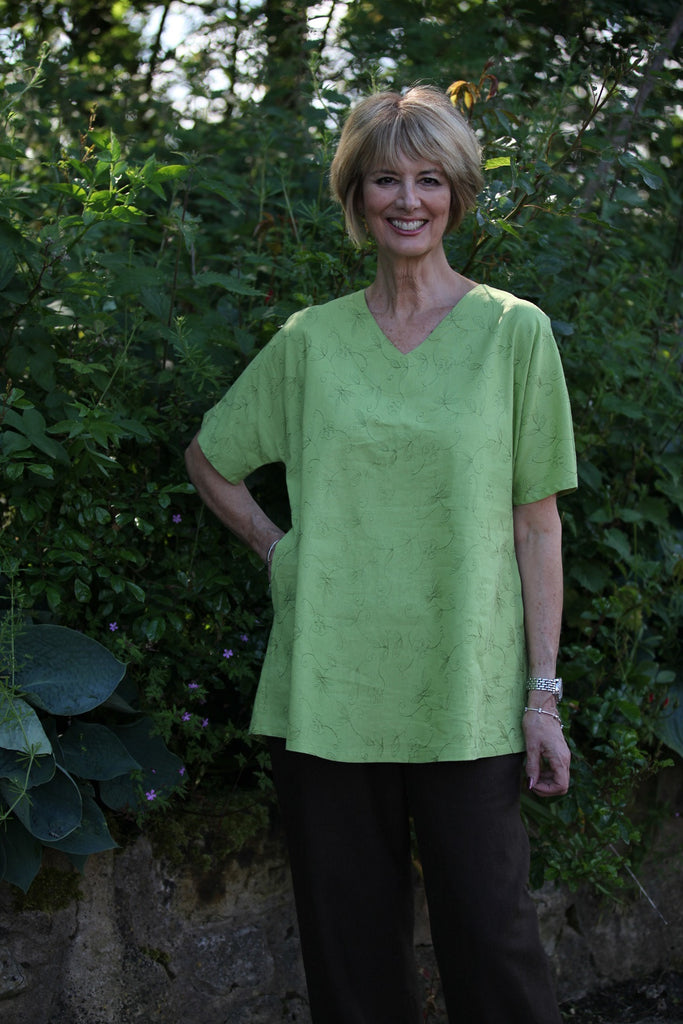 Mango Tunic in Leaf  size 18/20 only