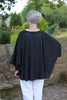 Cobweb Wrap in Black