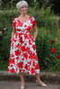 Summer Roses Dress  -   Size 12 only