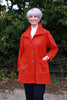 Tanfield Jacket in Royal and Pumpkin
