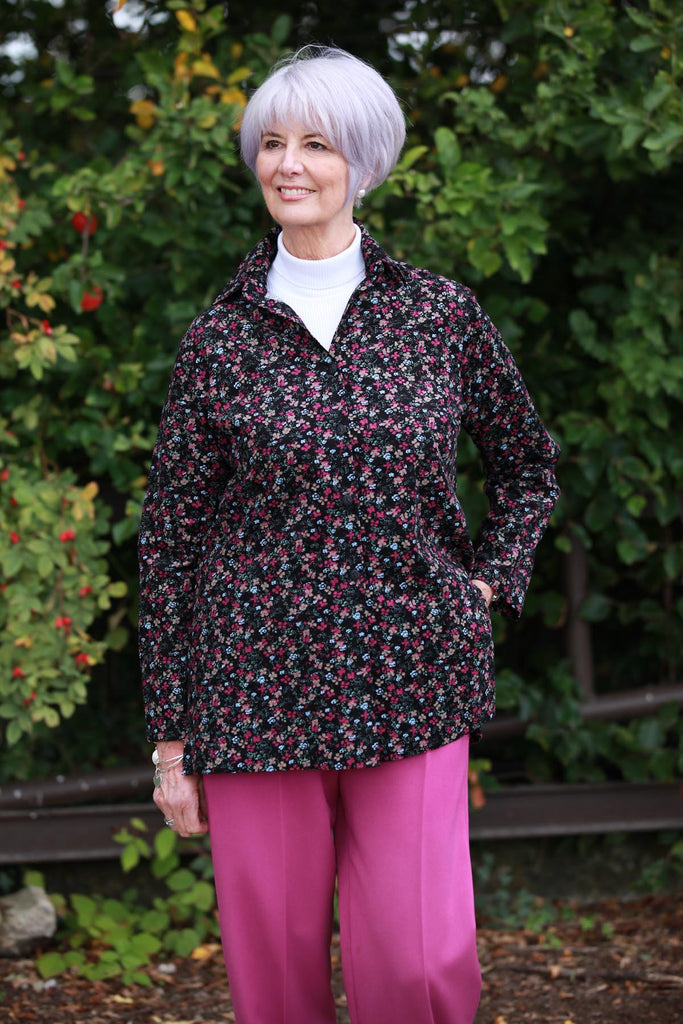 Josie fine cord Overshirt size 14 only