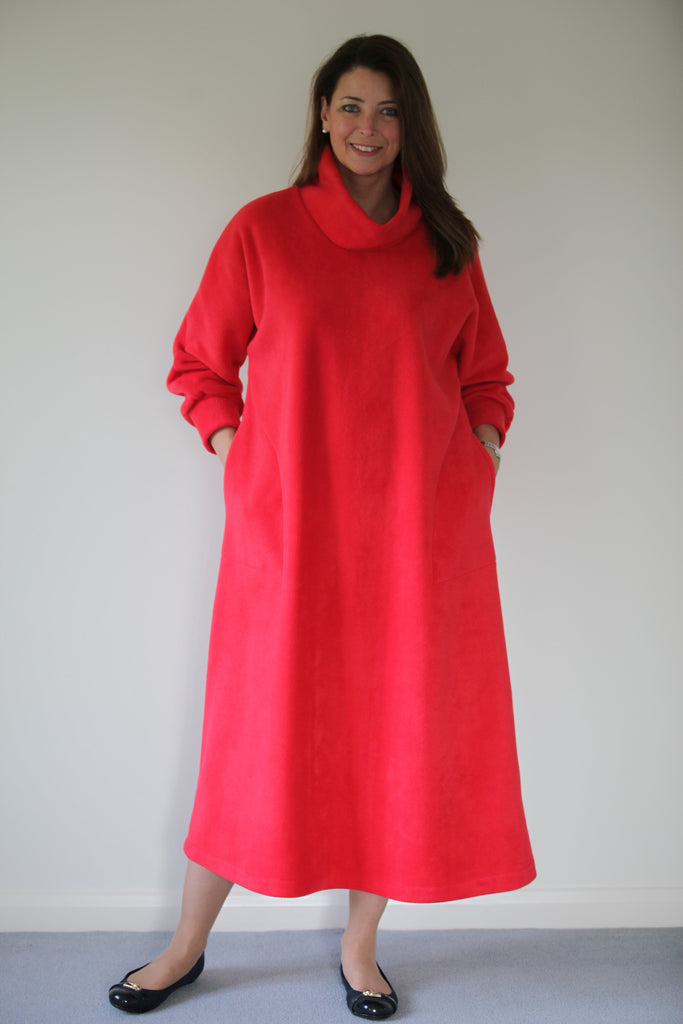 Fleece Kaftan in 11 colours and 3 lengths
